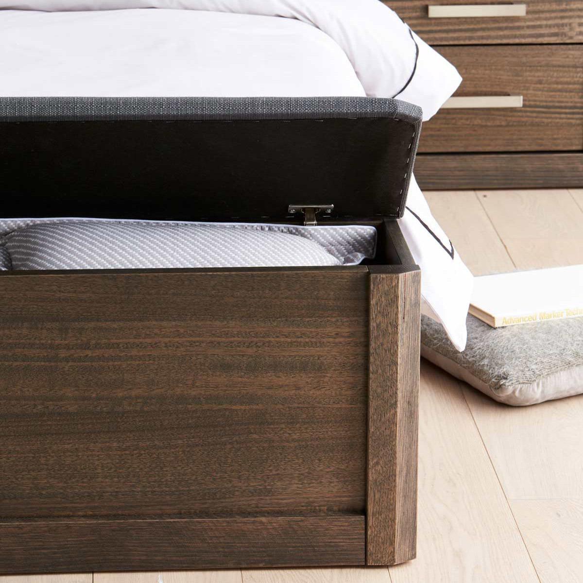 Silver Lynx Beds Maitland design bed storage