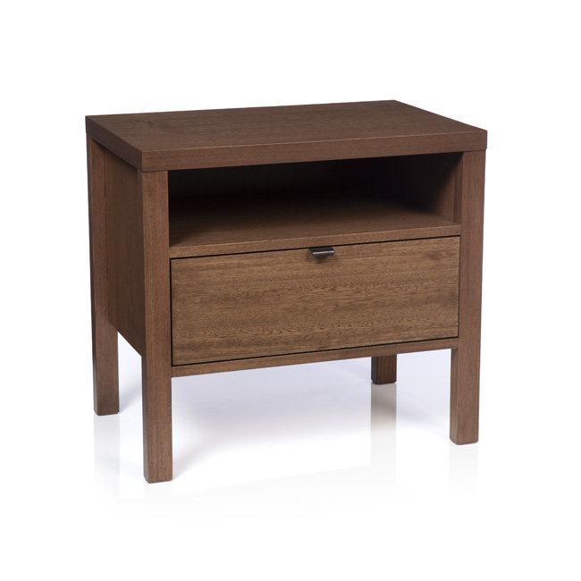 Silver Lynx city x collection bedside table