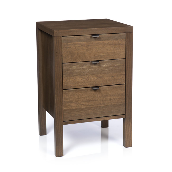 Silver lynx city collection bedside table