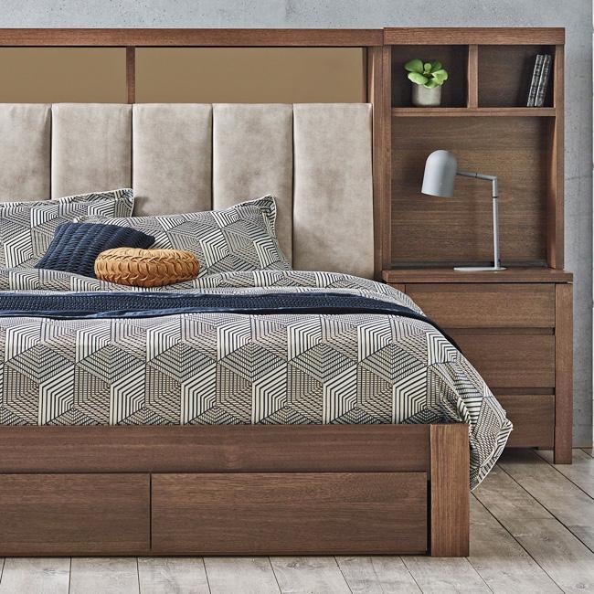 Silver Lynx Memphis bed design