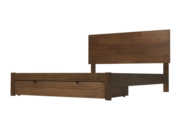Silver Lynx City X Bed Frame without border but with storage