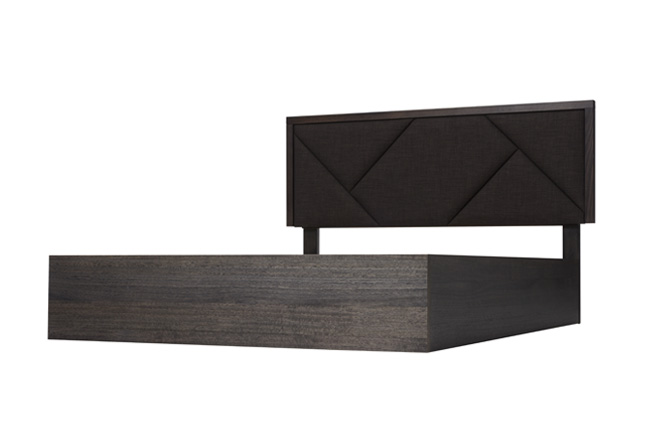 Silver Lynx City X Bed Frame Black with border