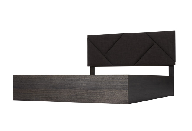 Silver Lynx City X Bed Frame Black without border